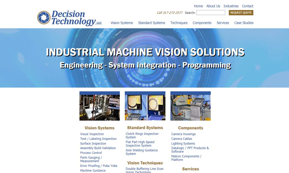 Machine Vision Manufacturers | Machine Vision Suppliers