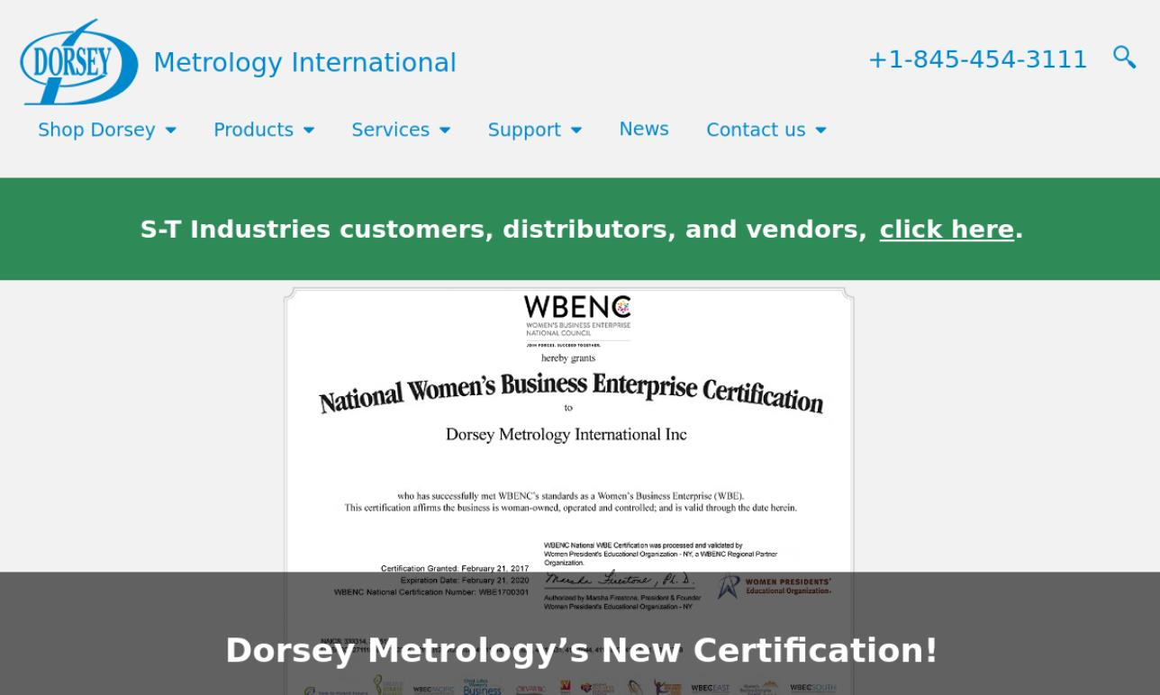 Dorsey Metrology International