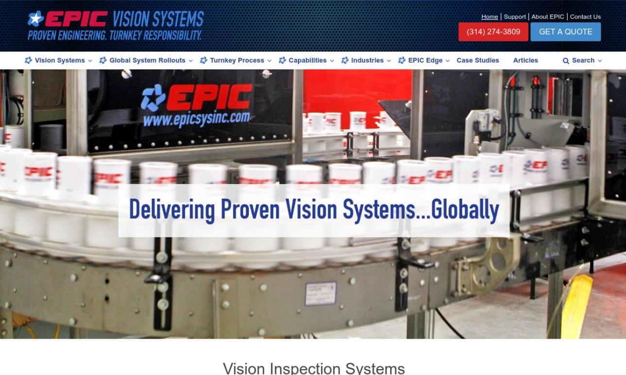 EPIC Vision Systems