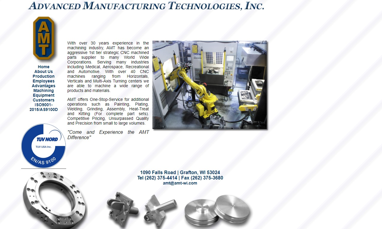 Advanced Manufacturing Technologies, Inc.